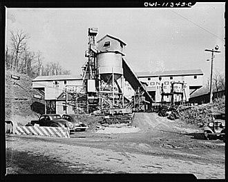 Pittsburgh Coal Company - Montour No. 4 Mine in Washington County, Pennsylvania.