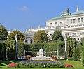 Monument to Empress Elisabeth, Volksgarten Vienna, September 2016.jpg