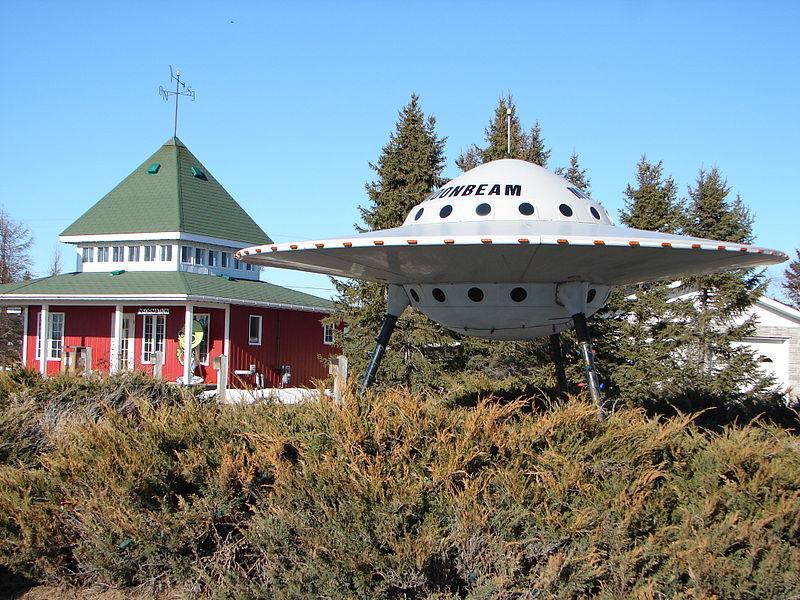 ''Ufo-gekkie' kan geen wetenschapper zijn' 1