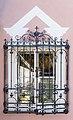 Moosburg Windischbach 1 Schloss Wurmhof N-Seite Gitterfenster 02102018 4852.jpg