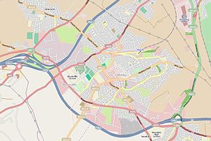 Morley, West Yorkshire - Street map of Morley