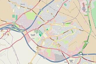 Morley, West Yorkshire - Street map of Morley