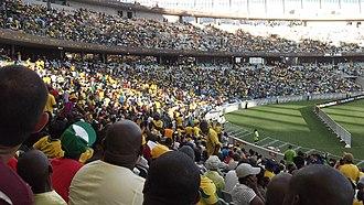 Moses Mabhida Stadium - Image: Moses Mabhida Stadium during 2013 Africa Cup of Nations 2013 01 23 RSA vs ANG