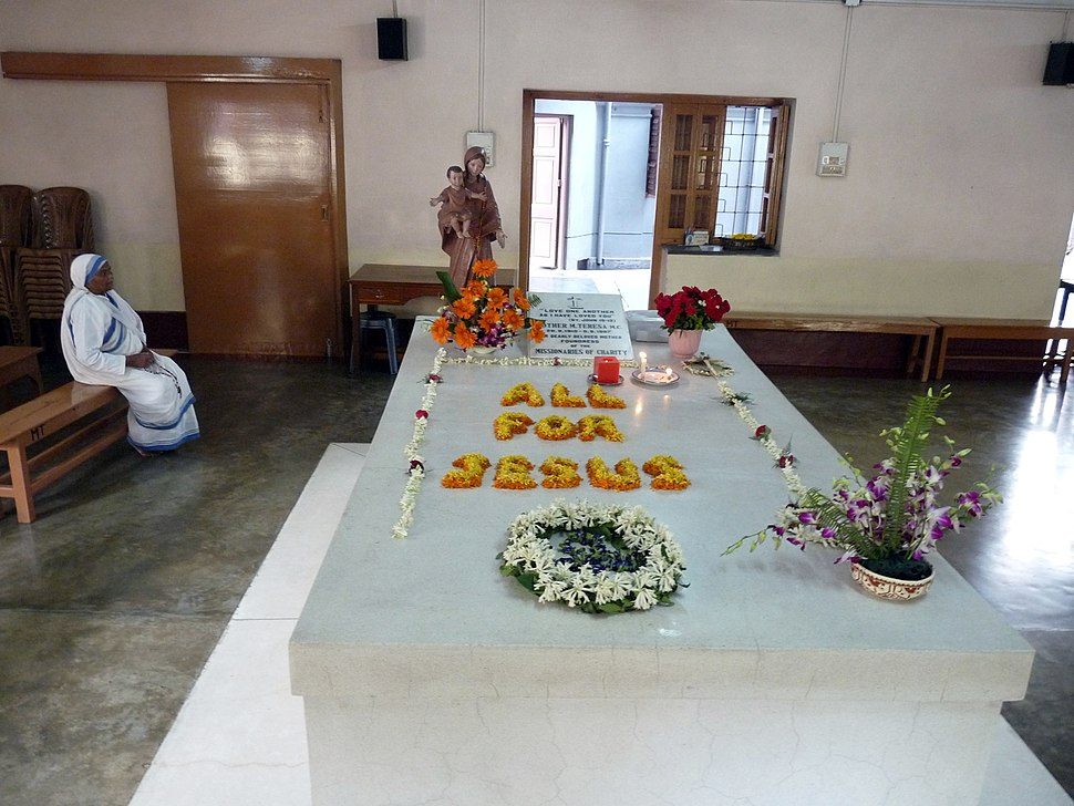 Mother Teresa tomb