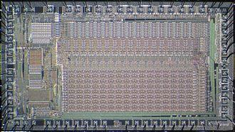 Motorola 68451 - Motorola MC68451 die