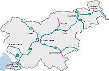 Slovenia-Transport-Motorways-SLO-map 2018