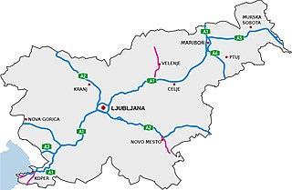 Highways in Slovenia Overview of highways in Slovenia