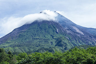 Mount Merapi - Image: Mount Merapi in 2014