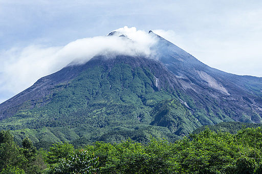 Mount Merapi in 2014