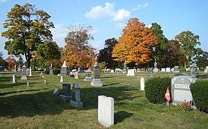 Mount Wollaston Cemetery - Image: Mount Wollaston Cemetery
