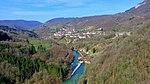 Mouthier-Haute-Pierre, le moulin Maugain en amont du village.jpg
