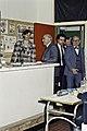 Mr CURIEN Ministre de la Recherche au collège Pierre Brossolette de Chatenay Malabry-41-cliche Jean Weber.jpg