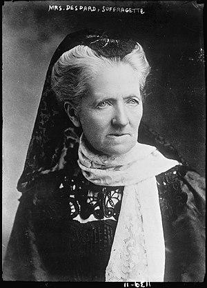 Charlotte Despard - Image: Mrs. Despard (suffragette)