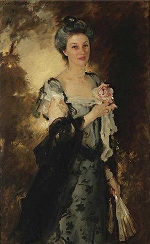 William Crowninshield Endicott - Mrs. William Crowninshield Endicott Jr., John Singer Sargent, 1903