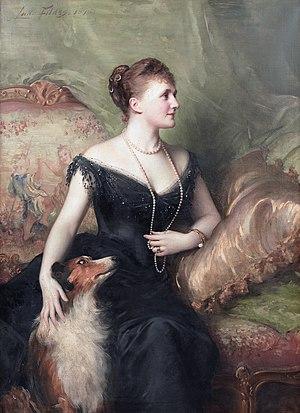 Venetia James - Portrait by Luke Fildes, 1895