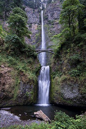 Multnomah Falls - Image: Multnomah Falls on 2 August 2012