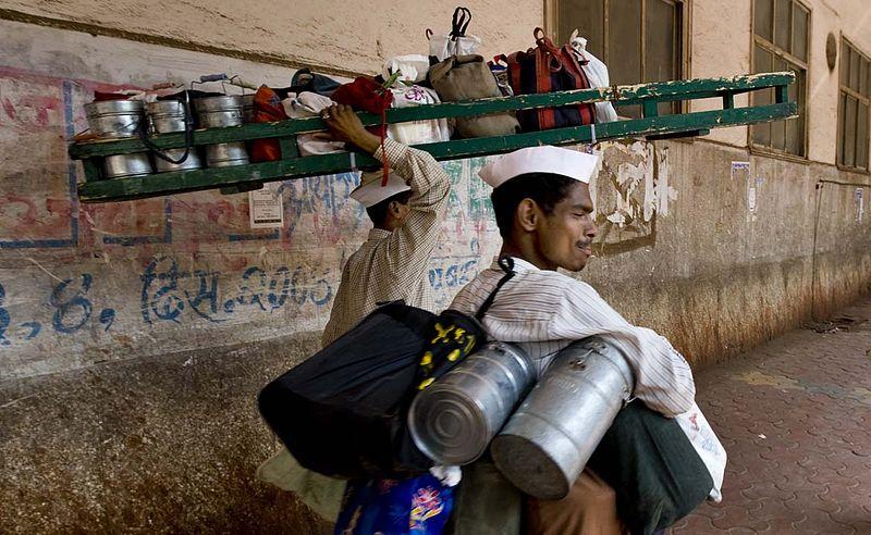 Indian Moovie Delivering Food