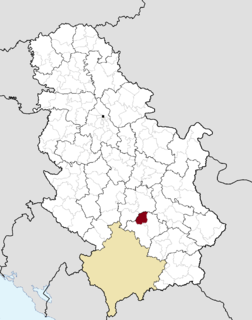 Blace Town and municipality in Southern and Eastern Serbia, Serbia
