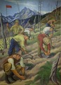 """Mural- """"Replanting the Wasteland,"""" by Ernest Fiene at the Department of Interior, Washington, D.C LCCN2013634332.tif"""