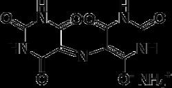 Struktur von Murexid