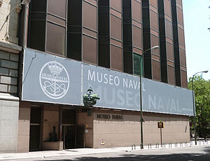 Naval Museum of Madrid - Image: Museo Naval de Madrid 02