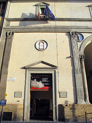 National Archaeological Museum (Florence) - Image: Museo archeologico nazionale, ingresso 01