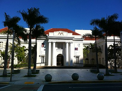 How to get to Museo De Arte De Puerto Rico with public transit - About the place