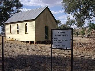 Muttama, New South Wales - Image: Muttama Uniting Church