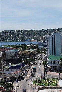 View of Mwanza's Central Business District