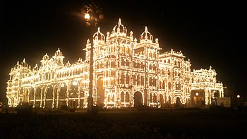 Mysore Palace lighting.jpg