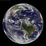 NASA GOES-13 Full Disk view of Earth May 14, 2010 (4607059166).jpg