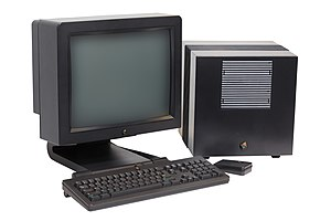 NeXT Computer - NeXTcube with original screen, keyboard and mouse