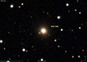 NGC 1000 as seen in the DSS (Digitized Sky Survey).