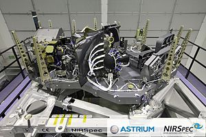 NIRSpec - NIRSpec Instrument within the Astrium Cleanroom in Ottobrunn, Germany