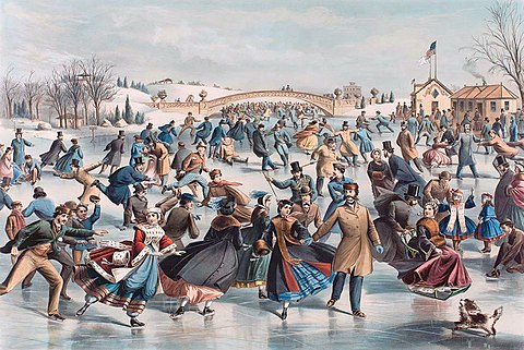Central Park, Winter - The Skating Pond, 1862 lithograph by Currier and Ives NSAPINY9 EXTR.jpg