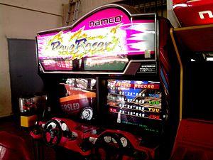 Namco System 22 - Namco System 22 Rave Racer