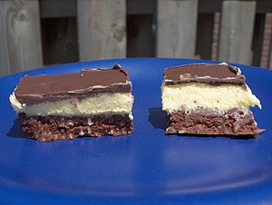 Canadian cuisine - Traditional Nanaimo bars