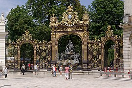 Place Stanislas – Fountain o Amphitrite