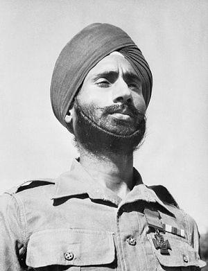 Nand Singh - Nand Singh in 1944