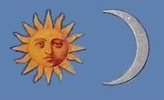 Sun (heraldry) - Image: Napeshold