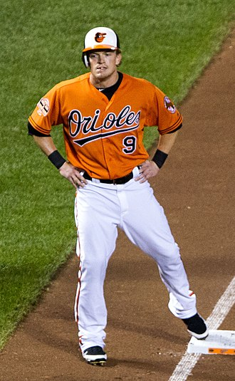 Nate McLouth - McLouth with the Baltimore Orioles in 2012