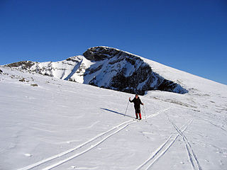 Nautgardstind mountain in Norway