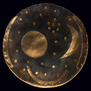300px Nebra Scheibe Modell Ancient Astronomy