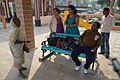 Needy Woman and Visitors - Bidhan Saikat - Taki - North 24 Parganas 2015-01-13 4576.JPG