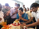 Neelagiri Dathu at Colombo Airport Ratmalana2.jpg