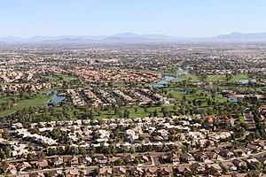 Chandler, Arizona - Neighborhoods in the City of Chandler around Ocotillo Road