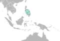 Nembrotha mullineri distribution map.png