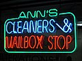 Neon sign - Ann's Cleaners & Mailbox Stop.jpg