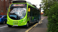New electric bus on church street 2014.PNG