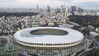 Japan National Stadium (2019) Multi-purpose stadium in Tokyo
